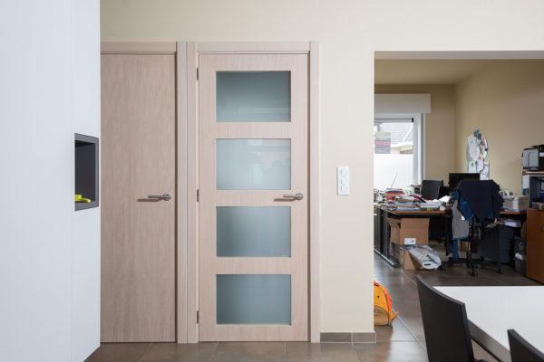 Gefineerde deuren enkel & dubbel