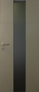 Securitdeur met glas in het midden